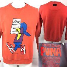 Puma X TODD JAMES AKA REAS Art Sweatshirt Orange Size L NEWS
