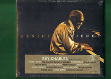 RAY CHARLES  -  GENIUS E FRIENDS CD DIGIPACK NUOVO SIGILLATO