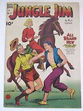Rare Jungle Jim #12 (1949 Standard Comics) by Paul Norris in 5.5 FN- Condition!