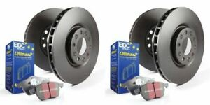 EBC S20K1075 - Stage 20 Front and Rear Brake Kit