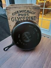 Griswold #9 Cast Iron Skillet With Large Block Logo Restored