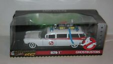 Ecto 1 Ghostbusters Car Jada Diecast Metal 1:24 Scale Hollywood Rides FREE SHIP