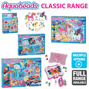 AQUA BEADS CLASSIC RANGE CHOOSE YOUR SET COMPLETE PLAYSETS BRAND NEW IN BOX
