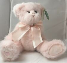 "Teddy Bear ""Rosebud"" style #1933 10"" Pink Bearington Collection jointed w/ tags"