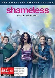 SHAMELESS : SEASON 4 : NEW DVD