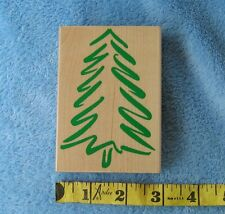 HERO ARTS Bold Holiday Tree Christmas 1997 Rare H1274 Modern Pine Cards Crafts