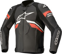 Alpinestars GP Plus R V3 Rideknit Leather Jacket Black/White/Red US 40 / EU 50