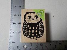 HERO ARTS #H5726 OWL WOOD MOUNT RUBBER STAMP NEW A1495