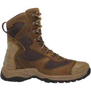 "Lacrosse 572110 Men's Atlas 8"" Brown Leather Waterproof Hunting Boots Shoes"