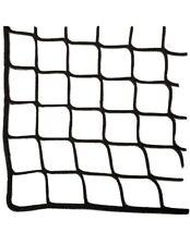 "M500 NETTING  1-3/4"" SQ  5.5' X 9.1' Black HTPP Fiber BAYNETS Cage Net Safety"