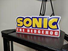 Logo Géant SEGA SONIC the hedgehog