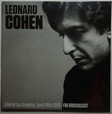 Leonard Cohen - Live in Los Angeles 1993 - FM Broadcast LP limited NEU/SEALED