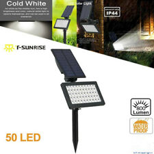 Solar 50LED Spot Light Flood Lamp Outdoor Waterproof Garden Wall Landscape Light