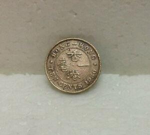 HONG KONG  KG VI  10 cents 1950  #2