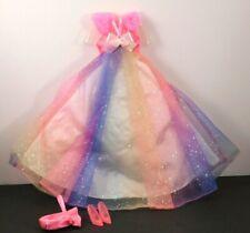 New No Box-Vintage Original 1996-BARBIE Doll Dress-Purse-Shoes-Clothes MATTEL
