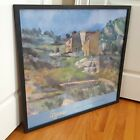 Cezanne FRAMED Poster Houses in Provence National Gallery of Art DC 2006 Lovely!