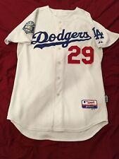 Vintage 2008 Jason Schmidt Los Angeles Dodgers Jersey w/ 50th LA Patch Size 44