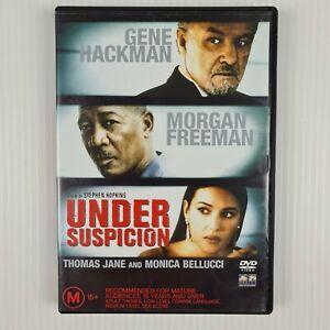 Under Suspicion DVD - Gene Hackman, Morgan Freeman, Thomas Jane -R4 TRACKED POST