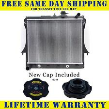 Radiator With Cap For Chevy Gmc Hummer Fits Colorado Canyon H3 H3T 2855WC