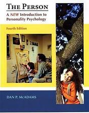 The Person: A New Introduction to Personality Psychology 4th Edn (McAdams, 2006)