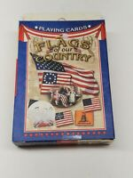 Flags of our Country United States of America Souvenir Playing Cards USA