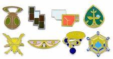 Pokemon Gym Badges: Gen 6 - Kalos League