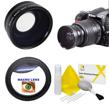 8K WIDE ANGLE LENS +MACRO LENS FOR NIKON D3300 WITH AF-P DX 18-55mm f/3.5-5.6G