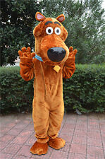New Professional Scooby Doo Dog Mascot Costume Adult SIZE Fancy Dress