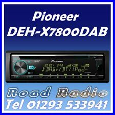 Pioneer DEH-X7800DAB Coche Bluetooth Estéreo DAB + iPod iPhone Android