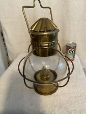 Vintage Nautical Oil Lamp