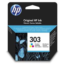 HP 303 Tri-couleur Cartouche d'encre Neuf HP Envy Photo 6230 7130 7830 (T6N01AE)
