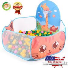 Large Ball Tent Baby Toy Toddler Kids Boys Girls Ball Pit with Basketball 4ft
