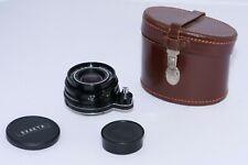 Schneider Curtagon 28mm f4 w.a. lens in Exakta mount. Film & Digital. Sony a7RII