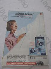 Pubblicità su pagina originale anni 50/60 Advertising vintage DIXAN e JANTZEN