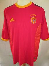 España Raul 2002-2004 Home Football Shirt Tamaño Extra Grande