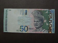 MALAYSIA RM50 BANKNOTES CENTRE SIGN BY ALI ABU HASSAN CV4772264 -  EXTREME FINE