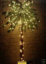 7 FT 300 LIGHTED PALM TREE for PATIO,DECK, 7 FOOT TREE *RELAX* (JIMMY BUFFETT)