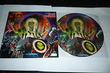 "IRON MAIDEN Out Of The Silent Planet  2000 UK limited 3-track 12"" vinyl"