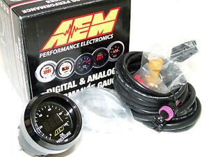 AEM 30-4401 52mm Electronic 0-100psi Oil/Fuel Pressure Gauge Meter