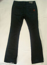 CHIP AND PEPPER Wet Wear Womens Dark Blue Jeans Size 27 x 33.5