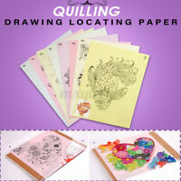 18PCS DIY Quilling Tool Release Drawing Locating Paper Craft Quilled Creations