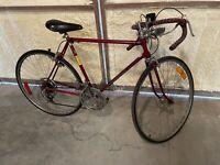 1976 Red Schwinn Varsity Men's Ten Speed Bicycle Survivor Original Bike Vintagei