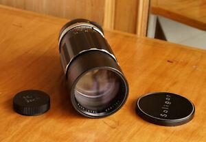 Soligor Telephoto lens f/3.5 200mm ,M42 mount w/Caps Excellent Condition