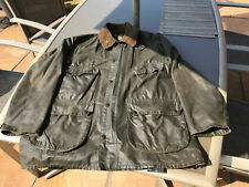 "Gentlemans Vintage Barbour ""Bedale"" in well-worn but good condition size 42"