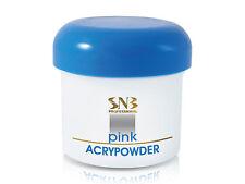 SNB Professional Acrypowder / Acry Powder Builder Pink 45g/1,58oz Nail Art Tips