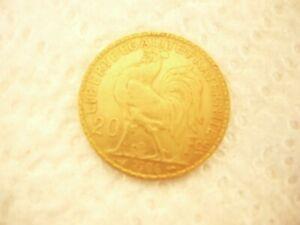 Marianne Au Coq    20 Francs  Or  1906