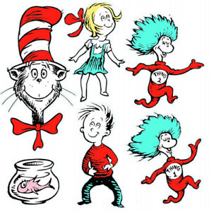 Eureka Large Dr. Seuss Characters Deco Kit (840226). Shipping is Free