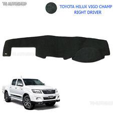 Dash Mat Dashmat Right Driver Blk Carpet For Toyota Hilux Vigo Champ 05 10 14