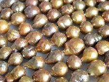 11-12x15-16mm approx. Large Hole Graguated Freshwater Baroque Pearl Beads #755