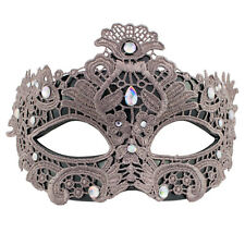 Venetian Lace Diamante | FILIGREE WOMENS MASQUERADE Mask | Fancy Dress PROM BALL